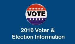 2016 Voter & Election Information